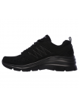 SKECHERS 12713 BBK FASHION FIT lateral interior