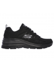 SKECHERS 12713 BBK FASHION FIT lateral exterior
