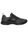 SKECHERS 14916 BKGY GO WALK 4 lateral exterior