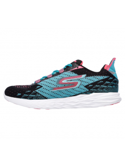 SKECHERS 14118 BKTL GO RUN 5 lateral interior