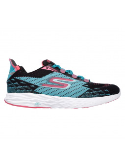 SKECHERS 14118 BKTL GO RUN 5 lateral exterior