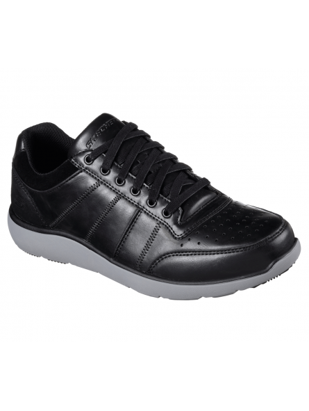 DEPORTIVO CASUAL SKECHERS 65275 BLK RELAXED FIT