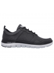 SKECHERS 52124 BLK FLEX ADVANTAGE 2.0 lateral exterior