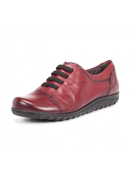 nueva llegada 1b11f 7a5d6 Fluchos 8876, zapato casual con cordones elásticos fabricado en piel