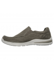 Skechers Relaxed Fit modelo 65195 color KHK lateral inetrior