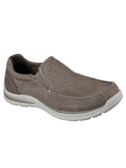 Skechers Relaxed Fit modelo 65195 color KHK
