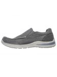 Skechers Relaxed Fit modelo 65195 color CHAR lateral interior