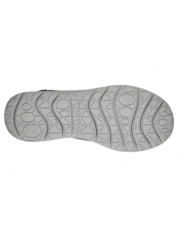 Mocasín Skechers Relaxed Fit modelo 65195 color NVY suela