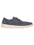Zapato casual Skechers Relaxed Fit 64629 NVY lateral exterior