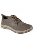 Zapato casual Skechers 65388 Classic Fit color BRN