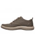 Zapato casual Skechers 65388 Classic Fit color BRN lateral interior