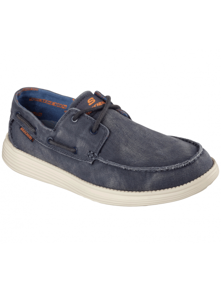 Náutico Skechers 64644 Relaxed Fit color NVY