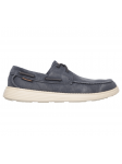 Náutico Skechers 64644 Relaxed Fit color NVY lateral exterior