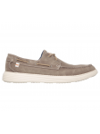 Náutico Skechers 64644 Relaxed Fit color LTBR lateral exterior