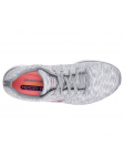 Deportivo Skechers Flex Appeal 2.0 modelo 12908 color GYW vista aerea