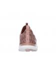 Deportivo Skechers Flex Appeal 2.0 modelo 12765 color ROS talon