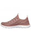 Deportivo Skechers Flex Appeal 2.0 modelo 12765 color ROS lateral interior