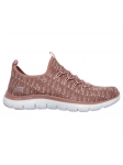 Deportivo Skechers Flex Appeal 2.0 modelo 12765 color ROS lateral exterior
