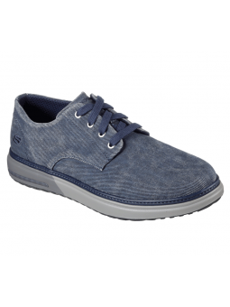 Zapato casual Skechers Classic Fit modelo 65371 color NVY