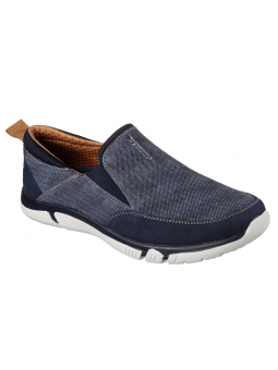 Mocasín Skechers Classic Fit modelo 65472 color NVY