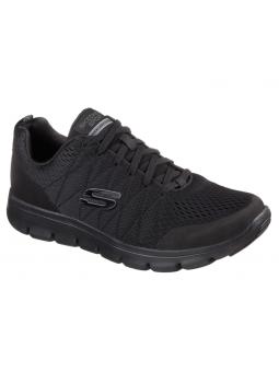Zapatillas deportivas Skechers Marauder modelo 52836 color BBK