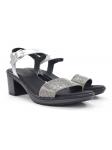 Sandalia para vestir SERGIOTTI modelo 46-8205 color PLATA