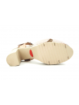 Sandalia YOKONO modelo MALIBU 001 color beig, vista de la suela