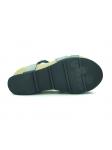 Sandalia YOKONO modelo CORFU-039 color negro, vista de la suela