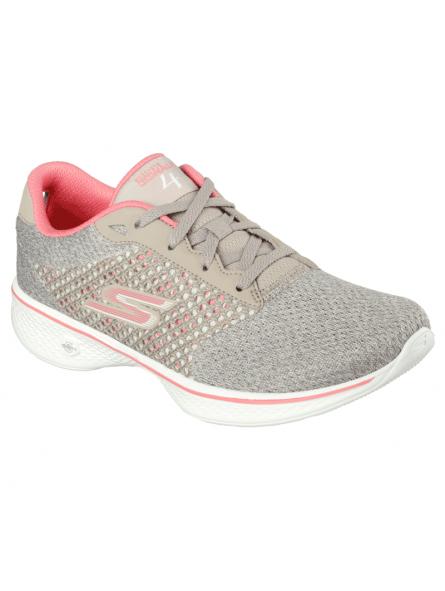 Zapatillas deportivas SKECHERS GO WALK4 modelo 14146 color TPCL