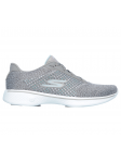 Zapatillas deportivas SKECHERS GO WALK4 modelo 14146 color GRY, vista lateral exterior