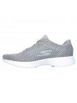 Zapatillas deportivas SKECHERS GO WALK4 modelo 14146 color GRY, vista lateral interior