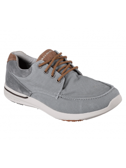 Nautico deportivo SKECHERS RELAXED FIT modelo 65494 color GRY