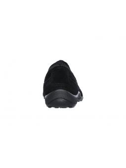 Zapatillas SKECHERS RELAXED FIT modelo 23020 color BLK, vista del talón