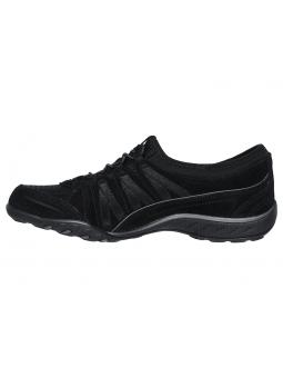 Zapatillas SKECHERS RELAXED FIT modelo 23020 color BLK, vista lateral interior