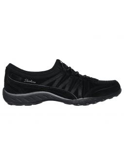 Zapatillas SKECHERS RELAXED FIT modelo 23020 color BLK, vista lateral exterior