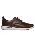 Náutico SKECHERS RELAXED FIT modelo 65727 color BRN, lateral exterior