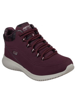 Botín SKECHERS ULRA FLEX modelo 12918 color BURG