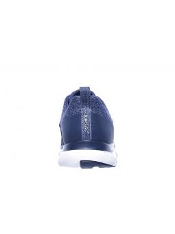 Zapatillas SKECHERS FLEX APPEAL 2.0 modelo 12898 color NVY, vista del talón