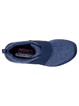 Zapatillas SKECHERS FLEX APPEAL 2.0 modelo 12898 color NVY, vista aérea