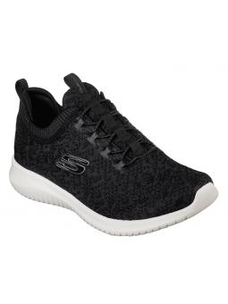 Zapatillas SKECHERS ULTRA FLEX modelo 12919 color BKW