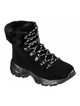 Botas SKECHERS D´LITES ALPS modelo 48644 color BLK