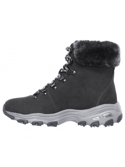 Botas SKECHERS D´LITES ALPES modelo 48644 color CCL, vista lateral interior