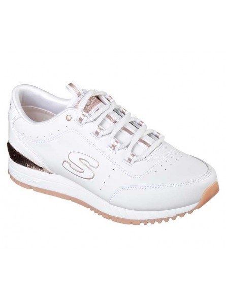 Zapatillas Skechers Originals Street Sunlite Delightfully OG, modelo 907, color blanco WHT