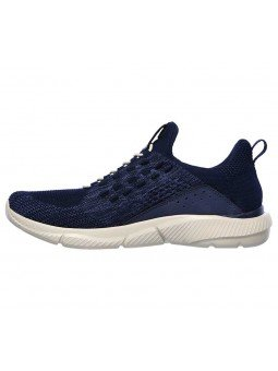 Zapatillas Skechers Relaxed Fit Ingram streetway, modelo 210028 y color marino NVY, lateral interior