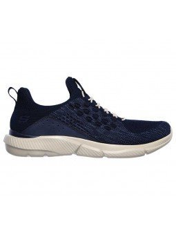 Zapatillas Skechers Relaxed Fit Ingram streetway, modelo 210028 y color marino NVY, lateral exterior