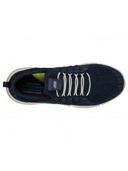 Zapatillas Skechers Relaxed Fit Ingram streetway, modelo 210028 y color marino NVY, vista aerea