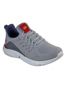 Zapatillas Skechers Relaxed Fit Ingram streetway, modelo 210028 y color gris GRY