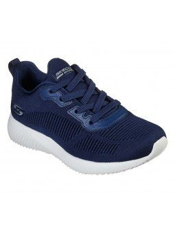 Comprar Zapatilla Skechers Sport Bobs Squad Tought Talk, modelo 32504, color marino NVY