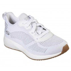 Zapatillas Skechers Sport Bobs Squad Glam League, modelo 31347, color blanco WHT
