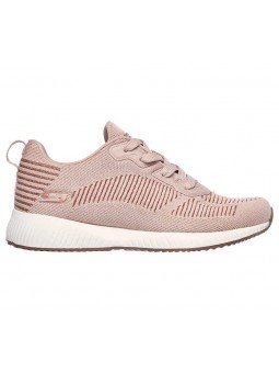 Zapatillas Skechers Sport Bobs Squad Glam League, modelo 31347, color rosa BLSH, lateral exterior